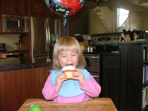 Julia cupcake